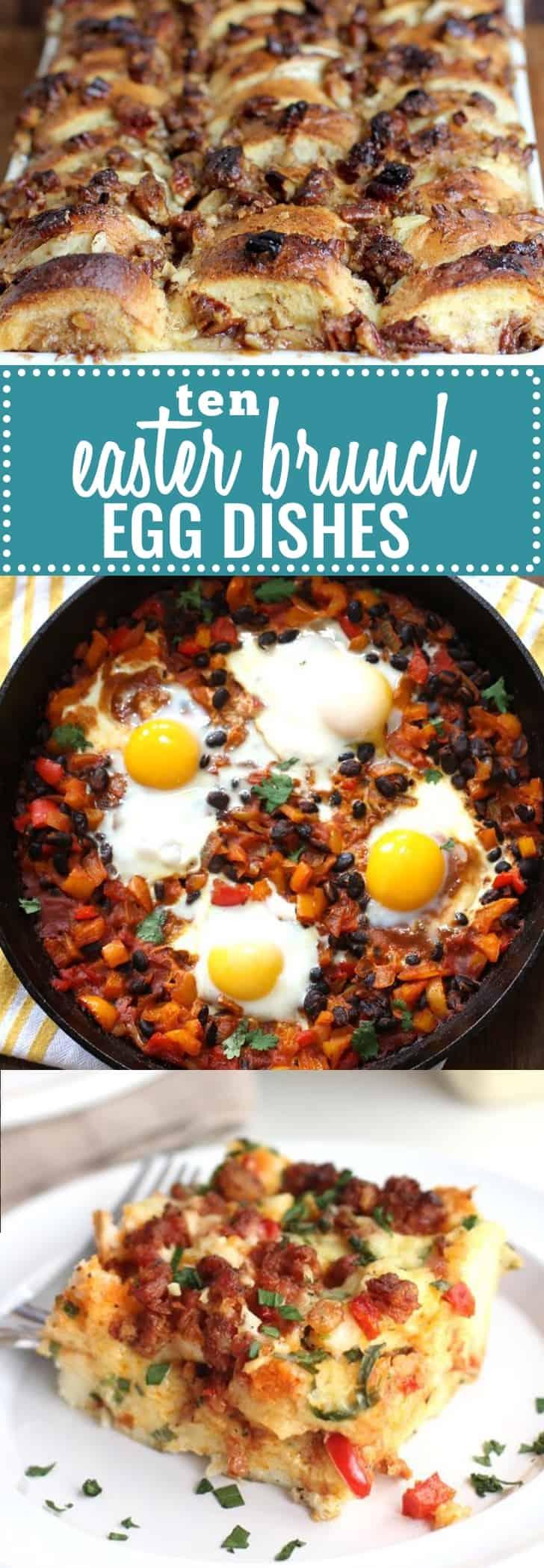 Ten Egg Dishes for Easter Brunch