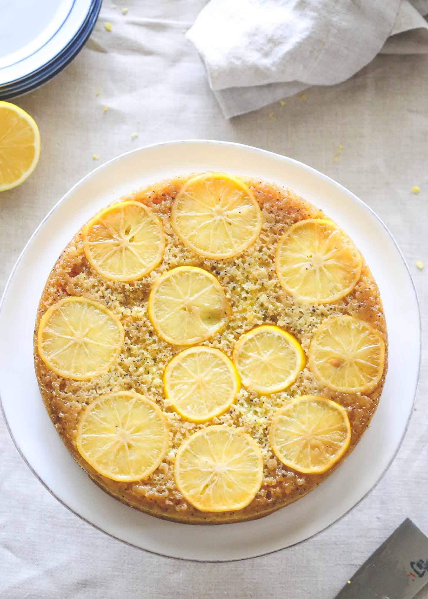 Meyer Lemon Upside Down Cake