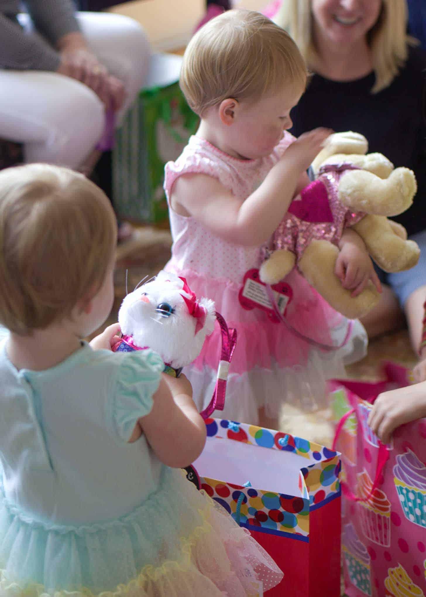 Molly and Clara Second Birthday