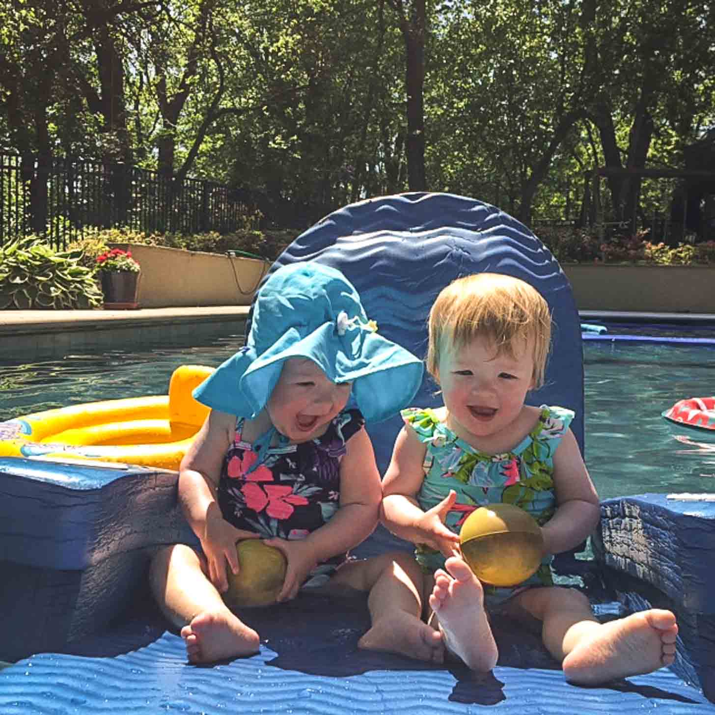 Molly and Clara Swimming Pool