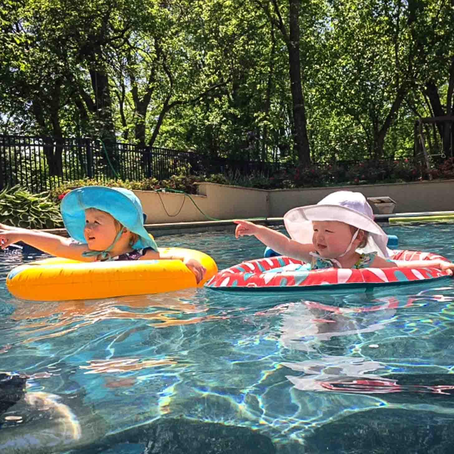 Molly and Clara Swimming Pool