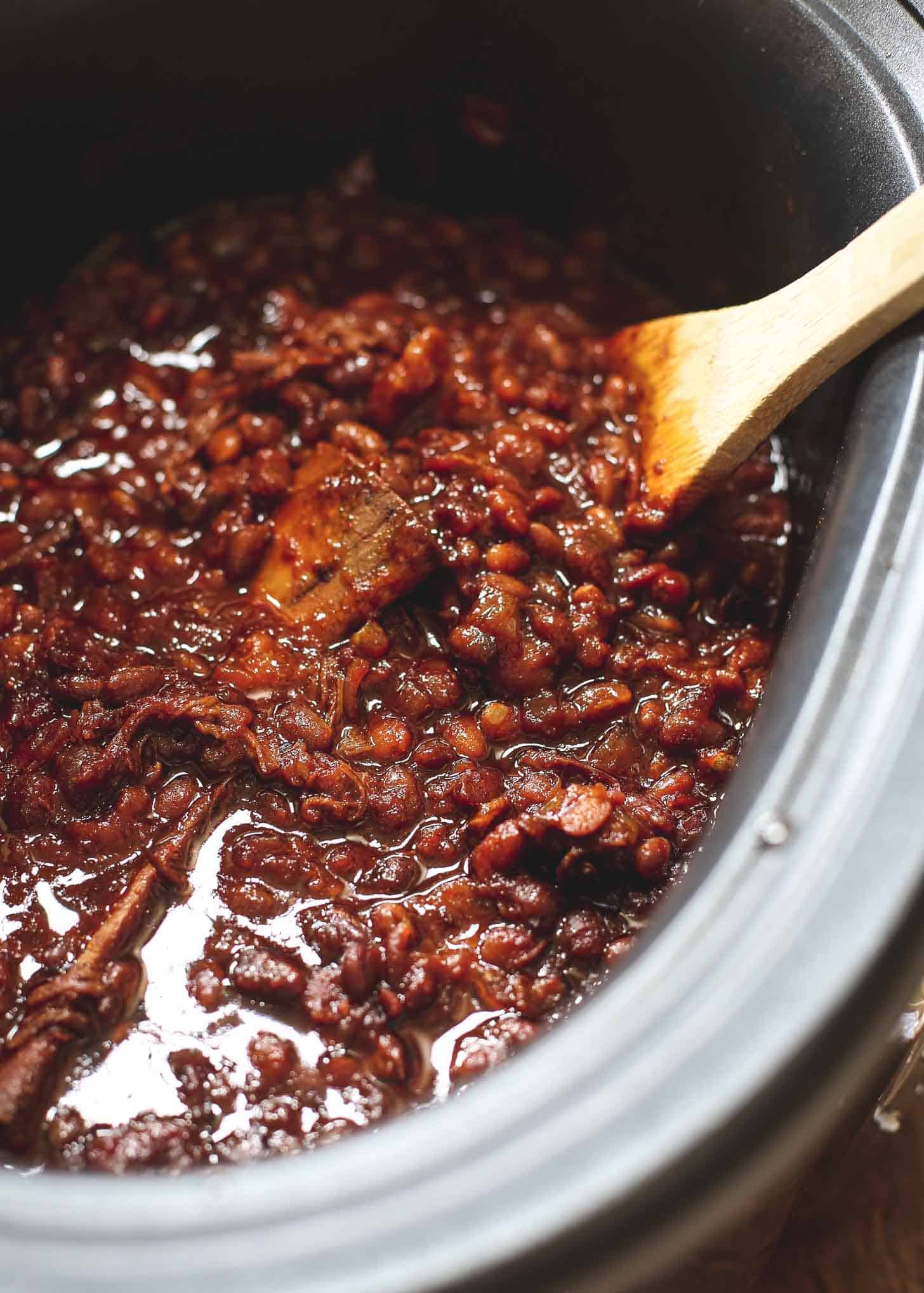 Baked Beans in a slow cooker