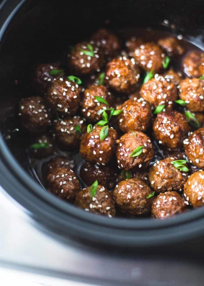 meatballs in a slow cooker