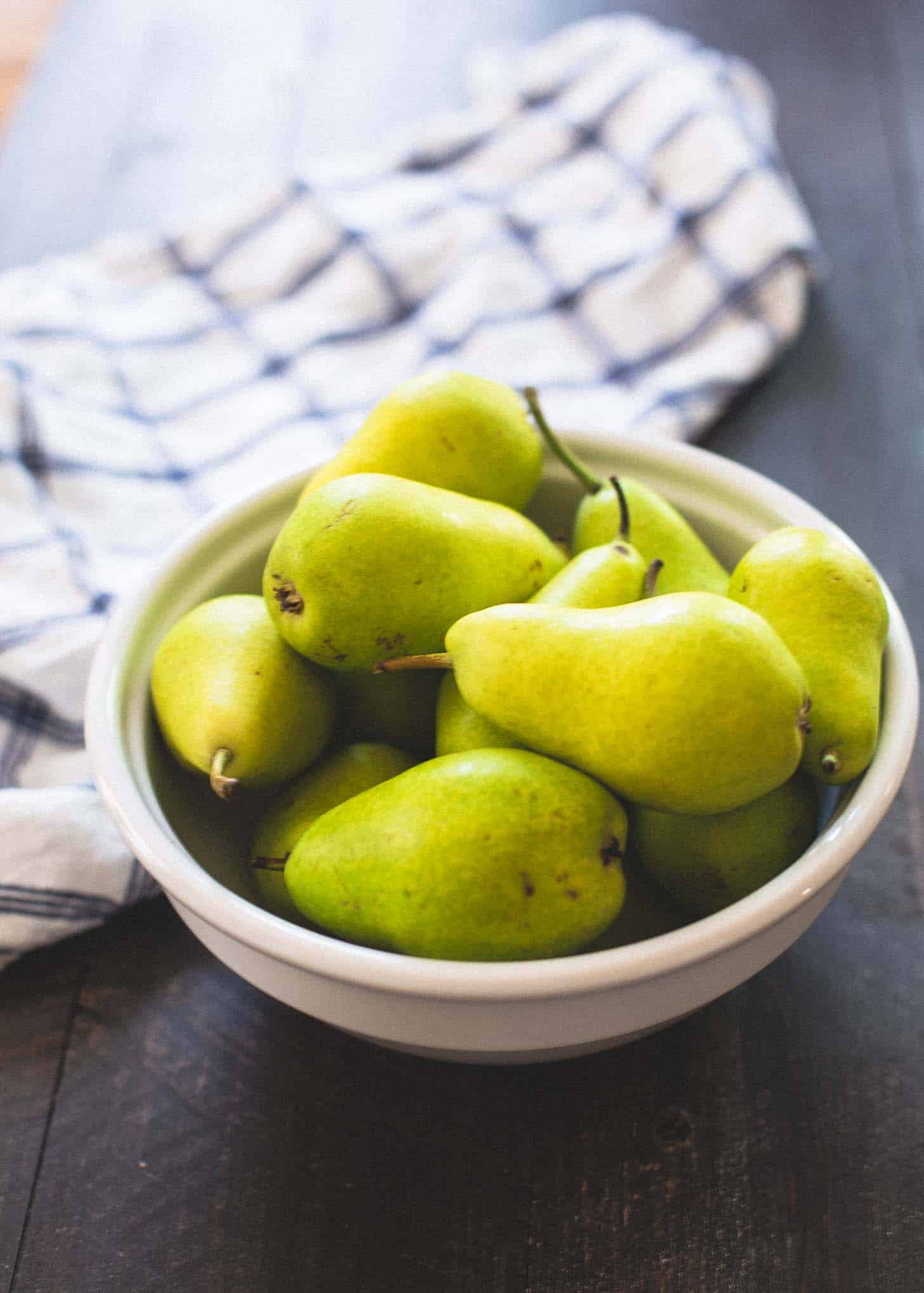 Pears for Pear and Lime Sangria