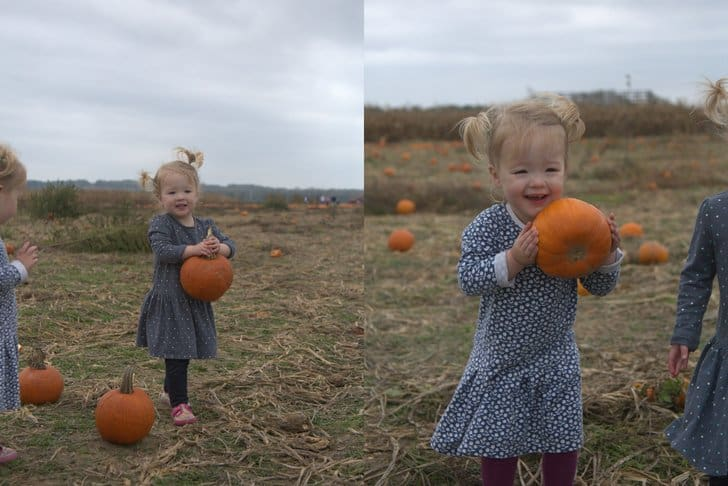 Molly and Clara_Pumpkin Patch