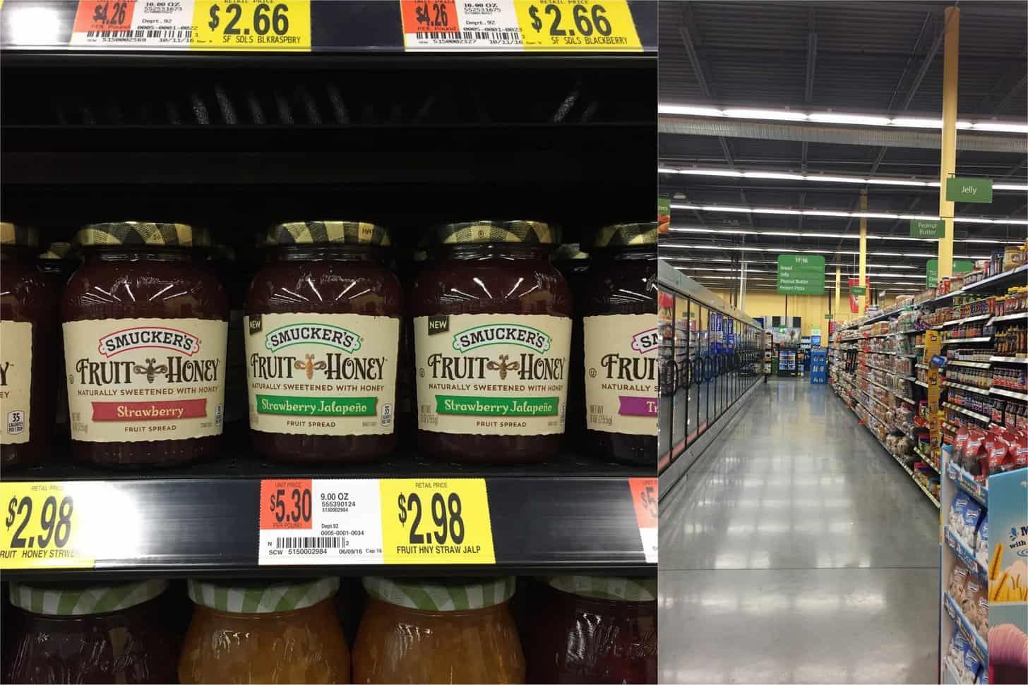 Walmart_Smuckers Fruit and Honey Spread