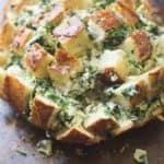 Spinach Artichoke Pull Apart Bread