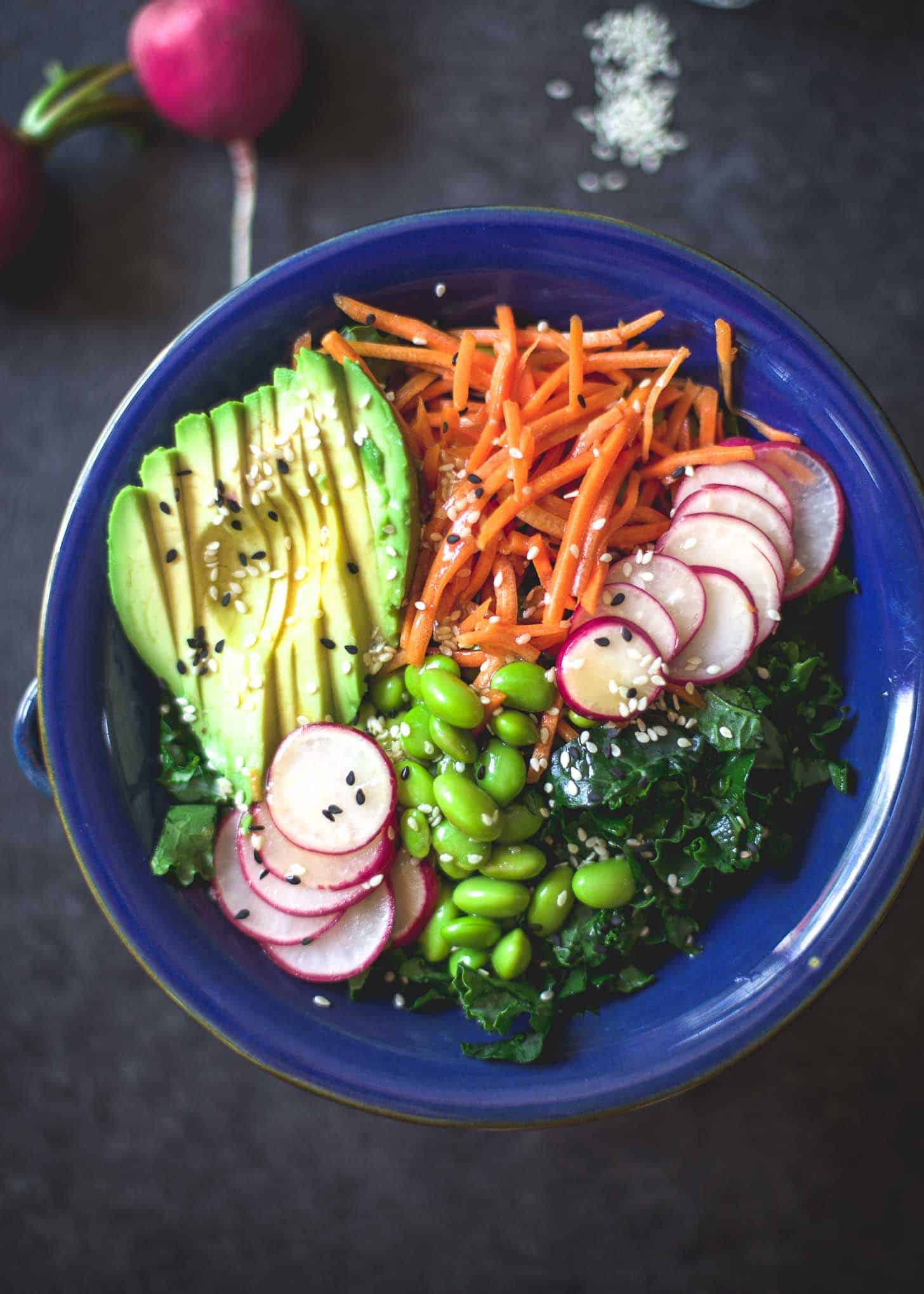 Sweet Sesame Kale Salad