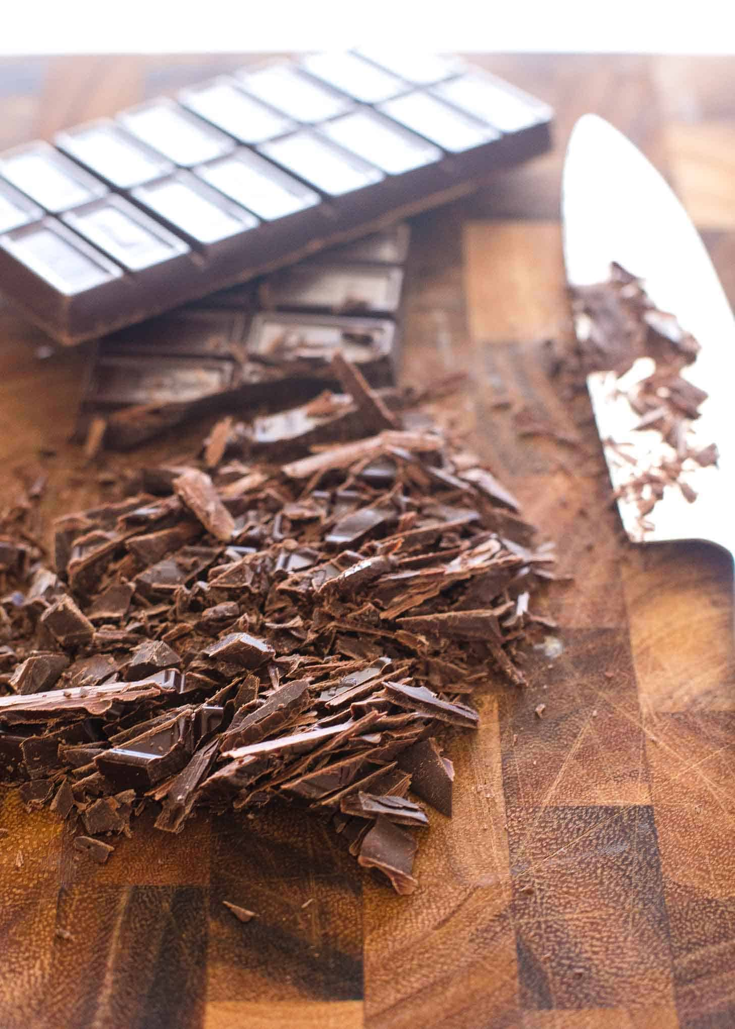 Chocolate Candy Cane Truffle
