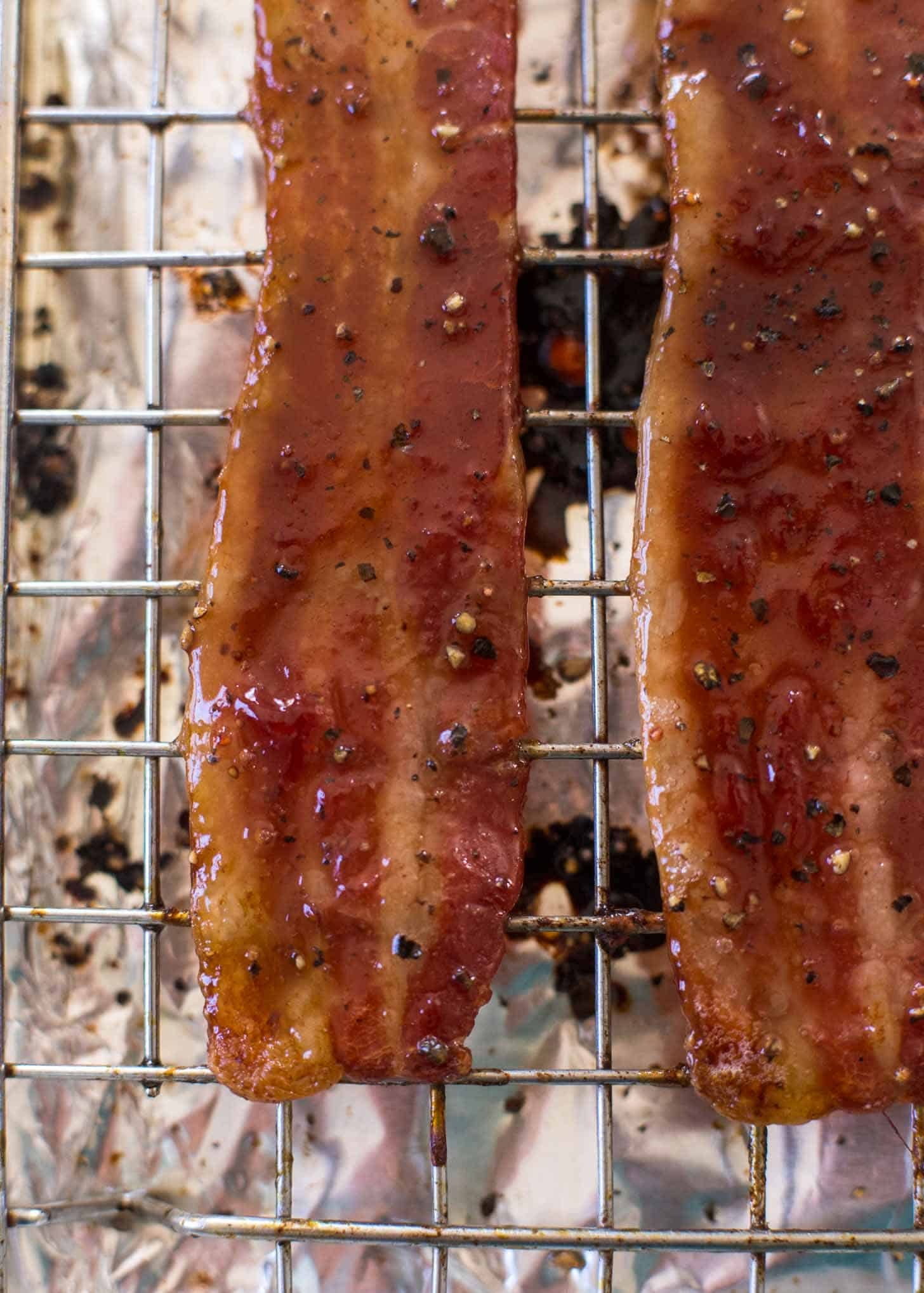 Strawberry Glazed Bacon