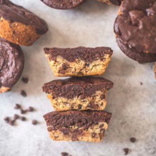 Chocolate Chip Brownie Cupcookies