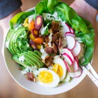 Spring Cobb Salad