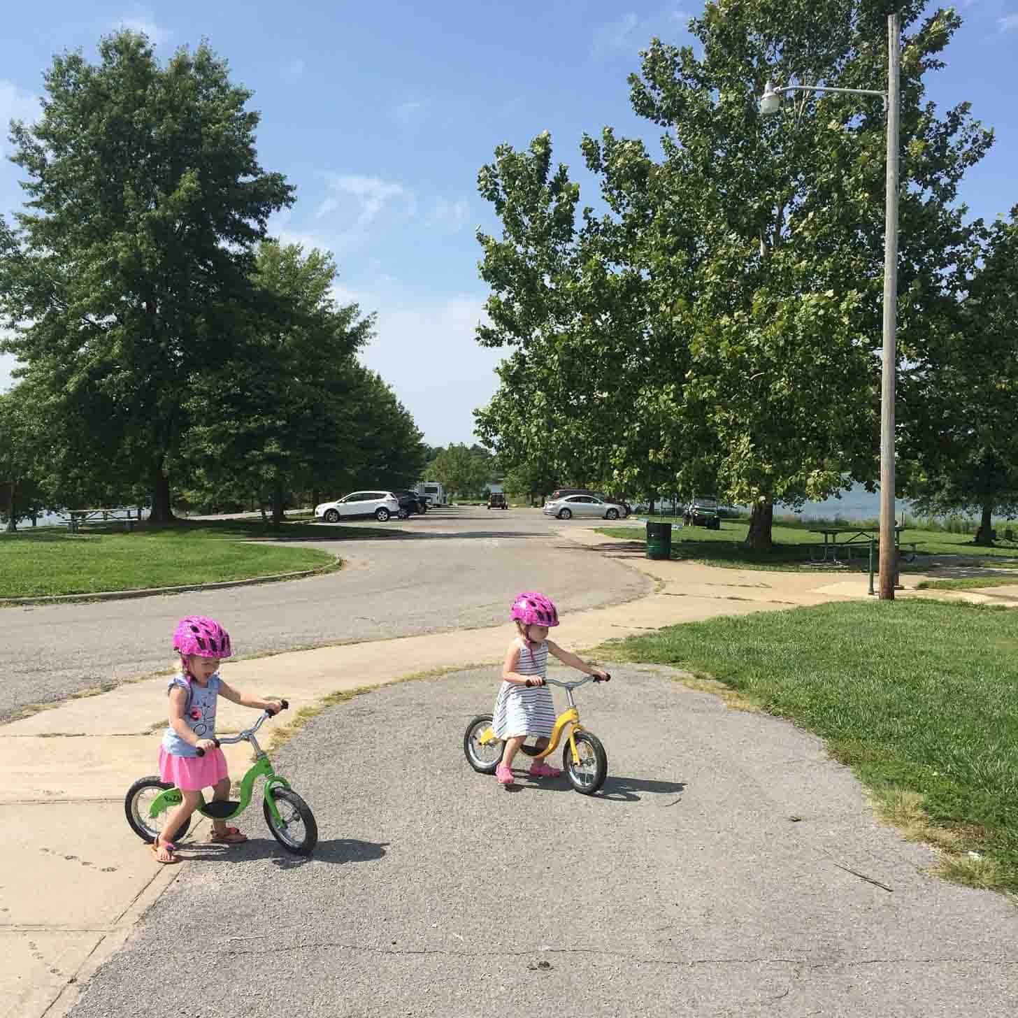 Molly and Clara Bikes