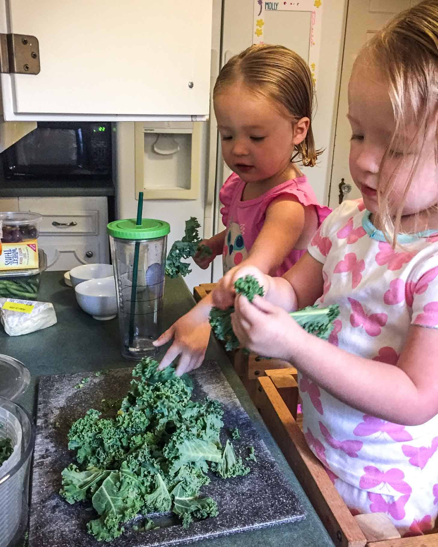 Molly and Clara_Kale Prep