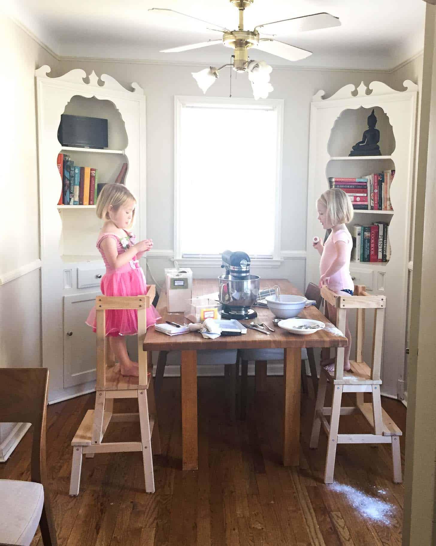 Molly and Clara_Baking Christmas Cookies