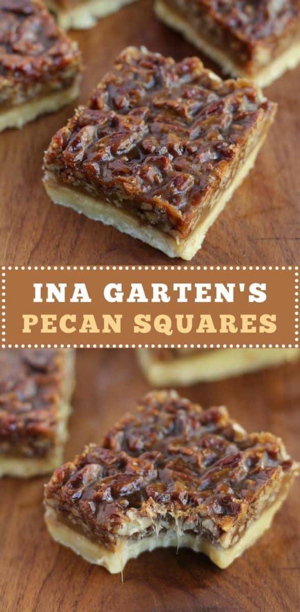 Ina Garten's Pecan Squares