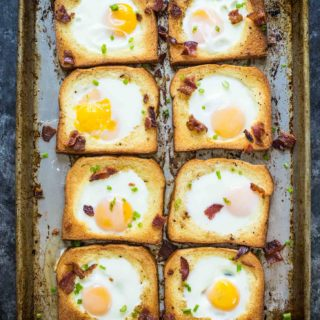 Brioche Baked Egg in a Hole