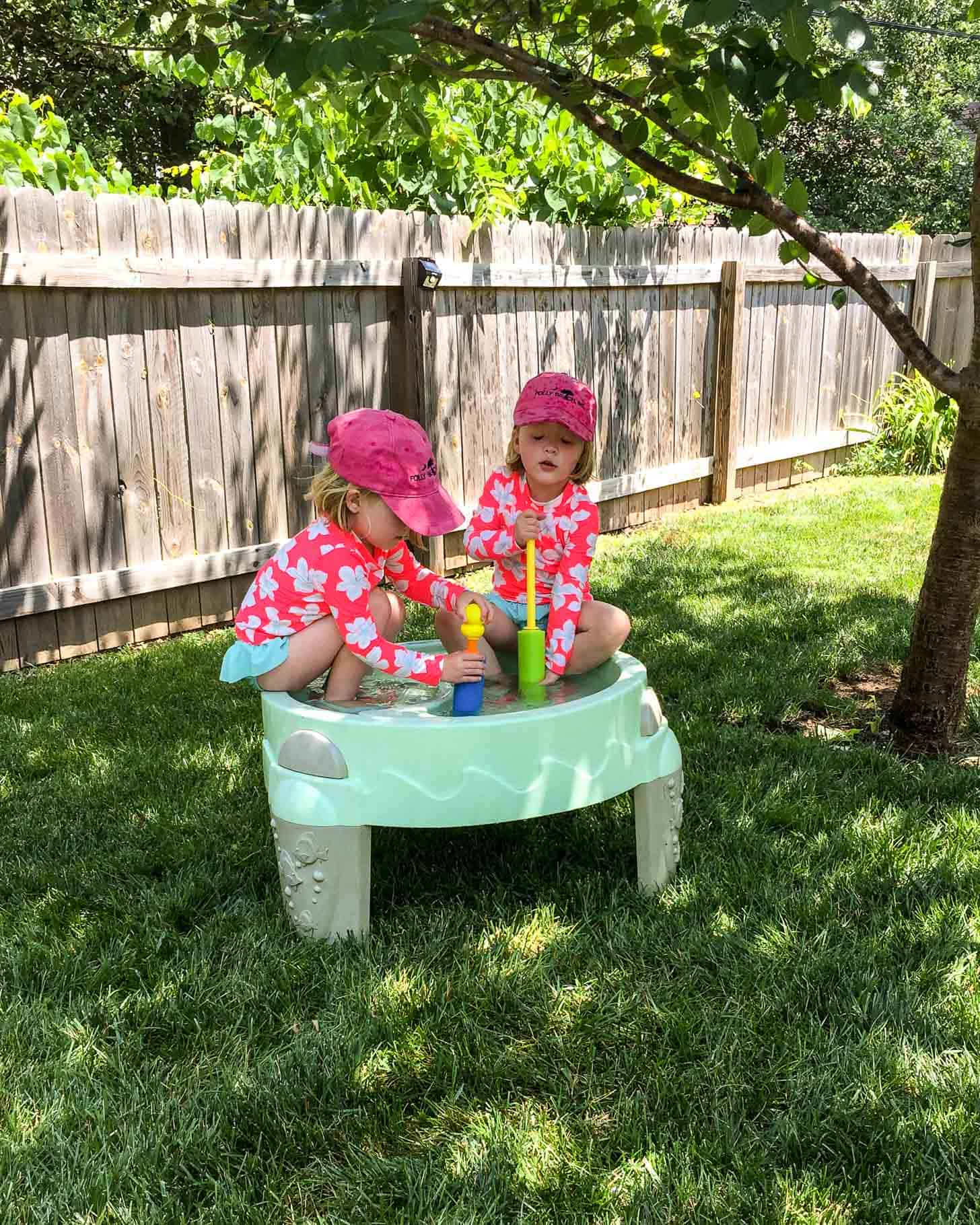 Molly and Clara_Water Table