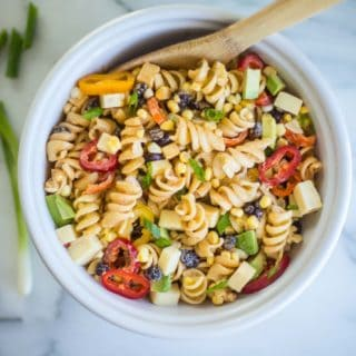 Pasta Salad with Creamy Chipotle Dressing