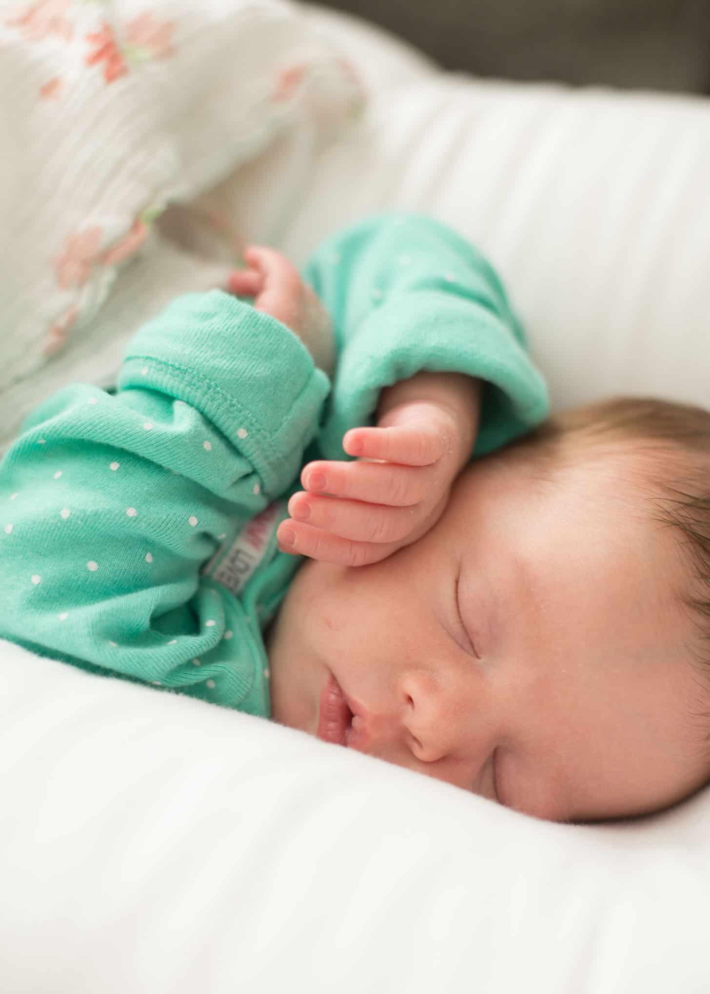 baby june sleeping