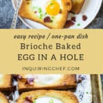 Brioche Baked Egg in a Hole recipe