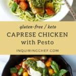 Caprese Chicken with Pesto recipe