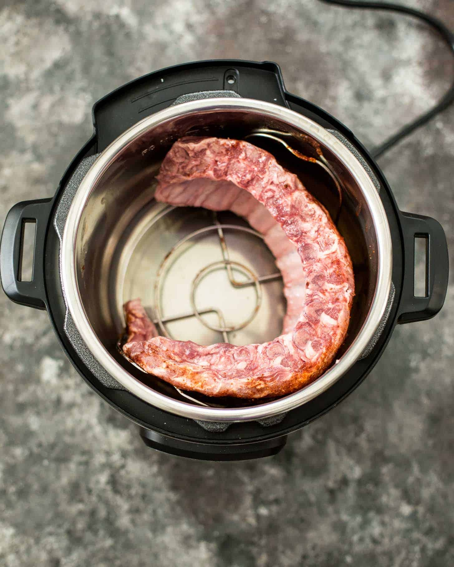 cooking ribs in the instant pot
