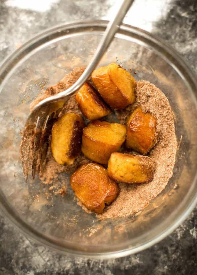 Pumpkin Spice Pretzel Bites