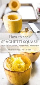How to Cook Spaghetti Squash (Instant Pot, Slow Cooker, Oven, or Microwave)