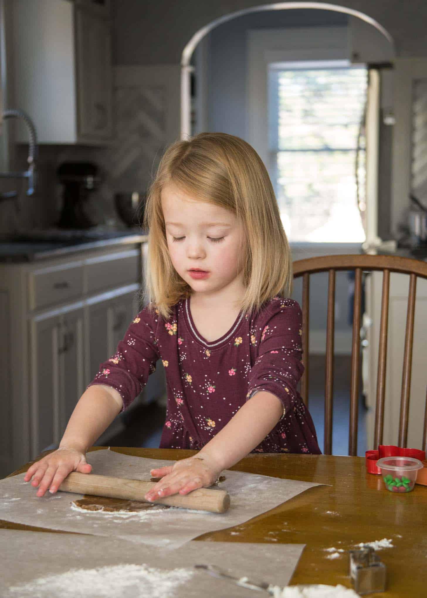 Molly and Clara Baking