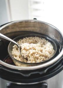 Rice for Instant Pot Korean Beef