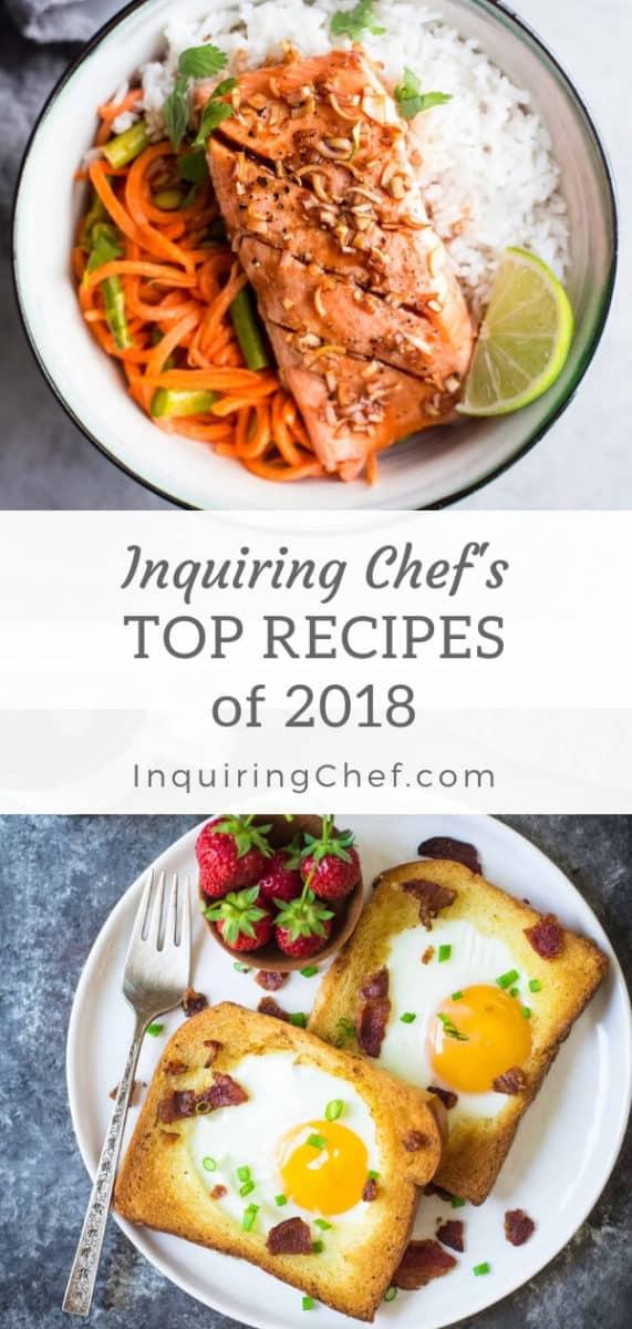 Inquiring Chef Top Recipes of 2018