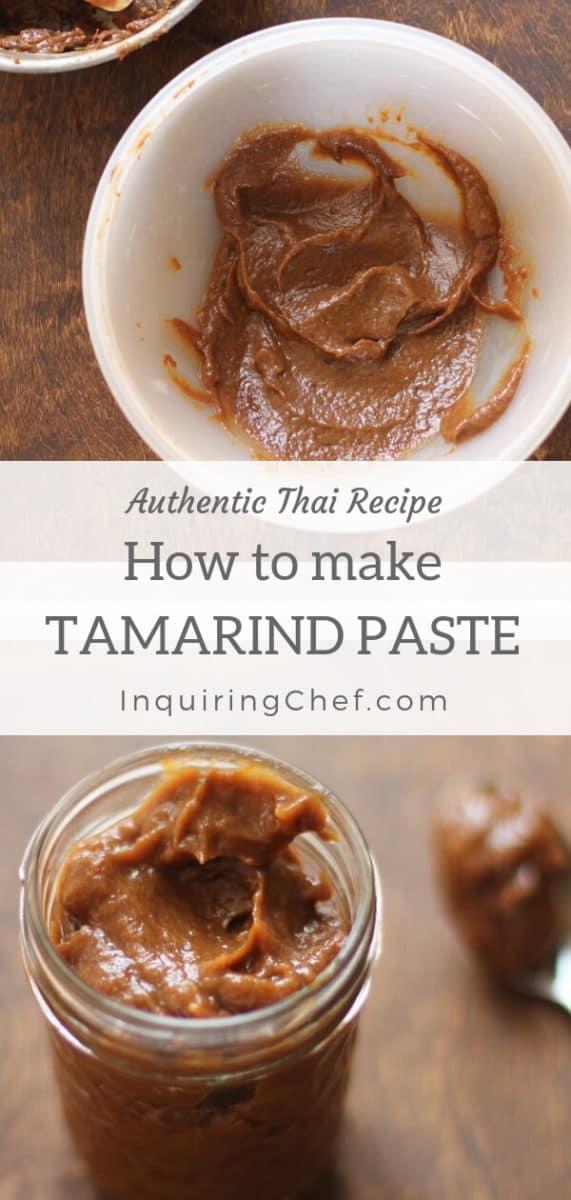 How to Make Tamarind Paste