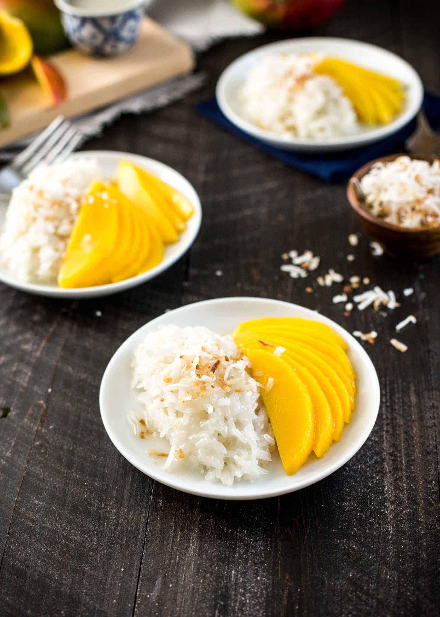 Mango Sticky Rice ~ Easy Classic Thai Dessert | Inquiring Chef