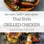 Thai-Style Grilled Chicken (Gai Yang)