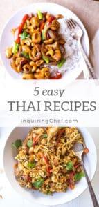 5 easy Thai recipes