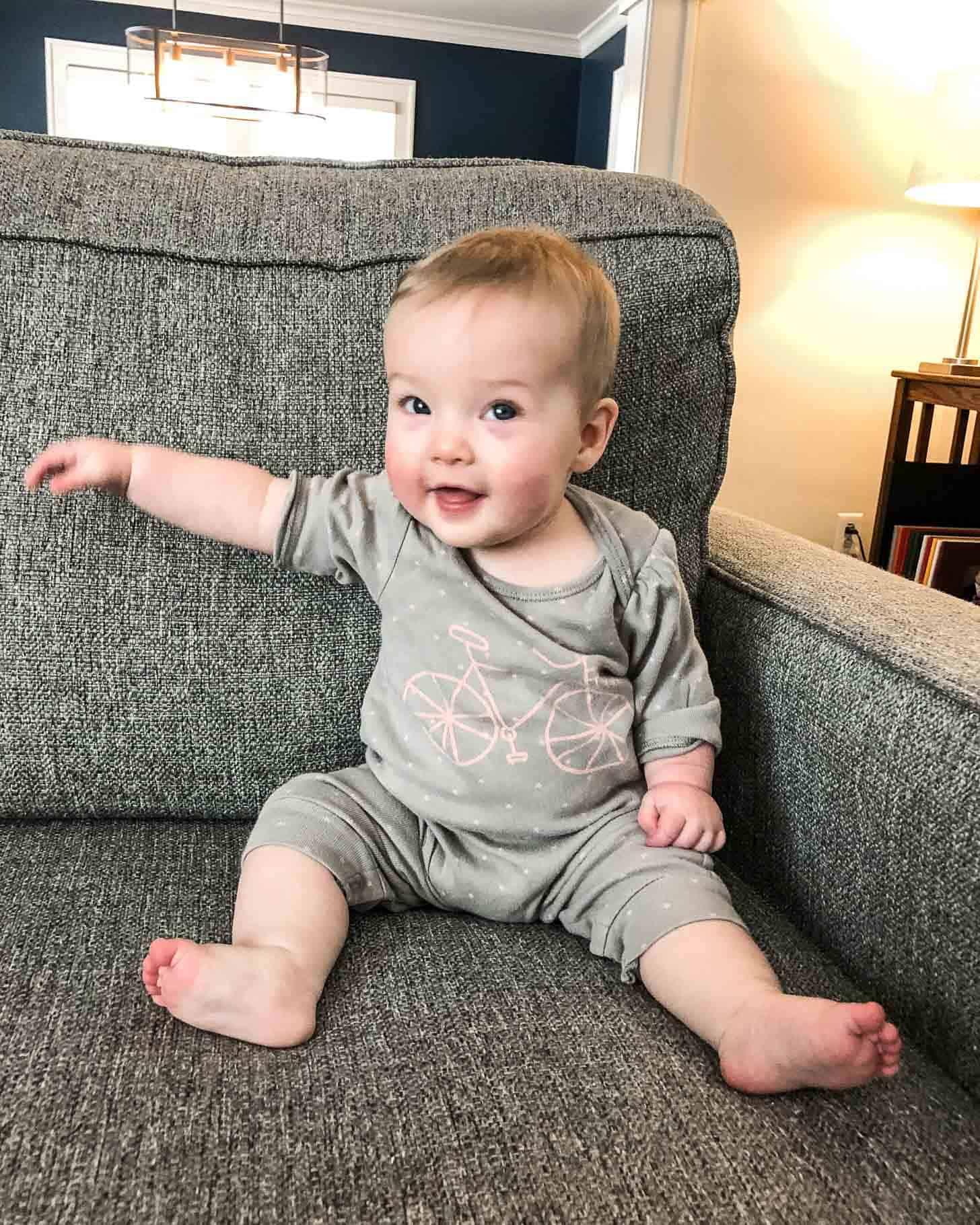 Baby June 7 Months
