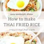 How to Make Thai Fried Rice