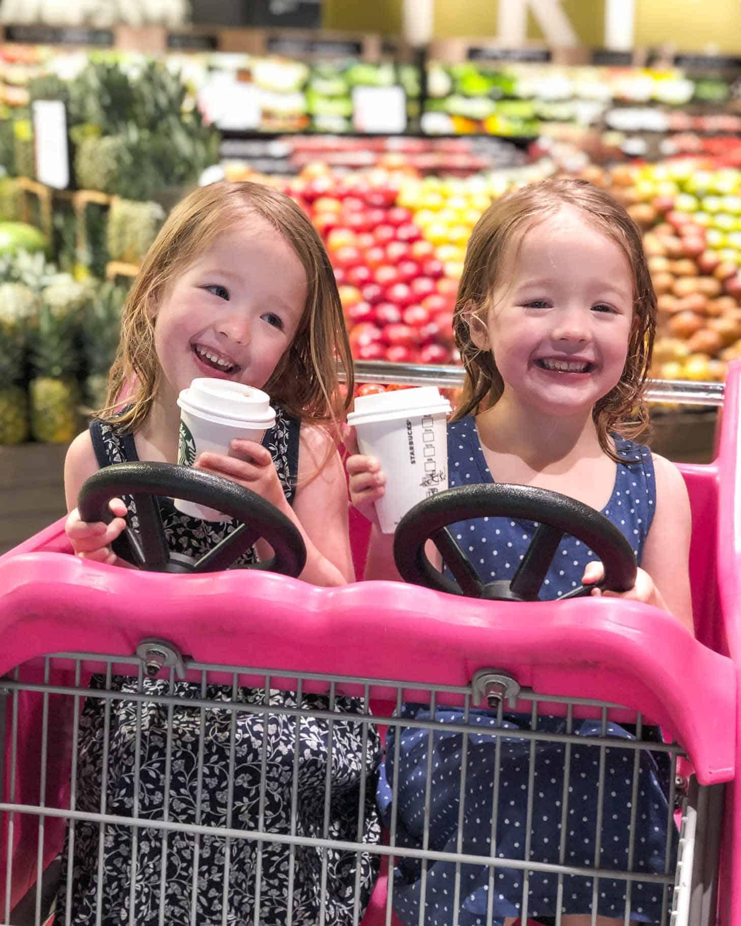 Twins at Starbucks