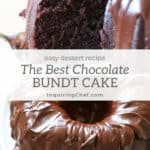The Best Chocolate Bundt Cake