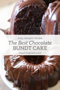 The Best Chocolate Bundt Cake
