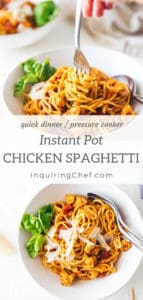 Easy Instant Pot Chicken Spaghetti