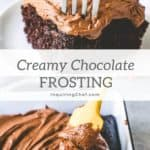 Easy Creamy Chocolate Frosting