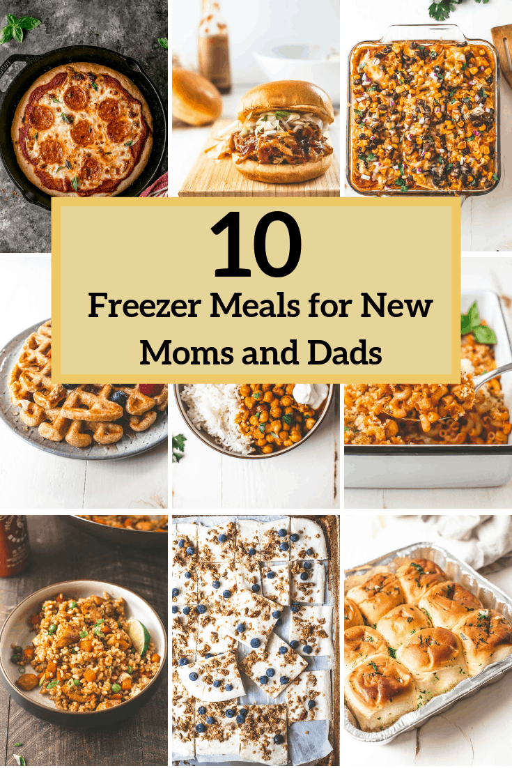Freezer meals for new moms and dads