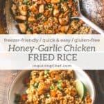 Honey Garlic Chicken Fried Rice