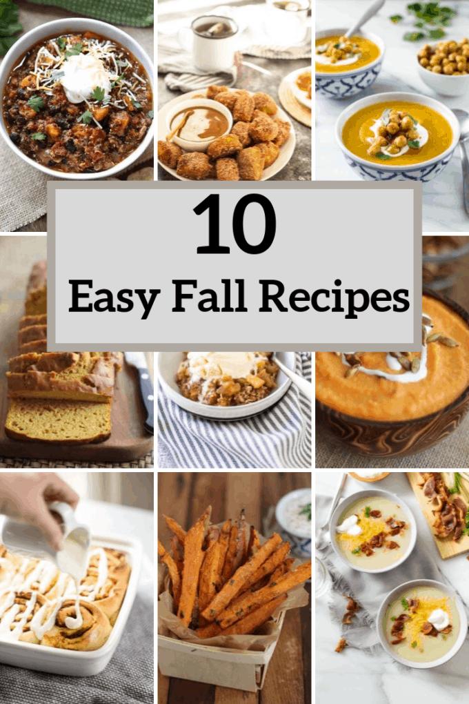 10 easy fall recipes