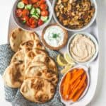 Sheet Pan Chicken Shawarma