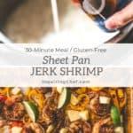Sheet Pan Jerk Shrimp with Coconut Rice