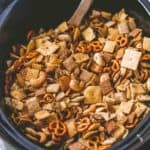 Slow Cooker Ranch Party Mix