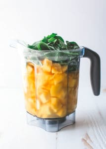 two ingredient green smoothie